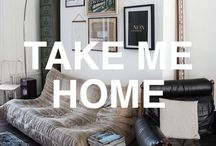 TAKE ME HOME / Binge watching Vloggers room tours? We're totally guilty! The trend for showing off your living space on YouTube has taken off big time, and we can't get enough of it. The vids are perfect for home décor inspiration. We are inspired all things industrial, clean cut, funky and imaginative!