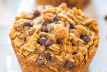 Recipes: Healthy Sweets / Whole grain, high protein, low sugar, etc. Can be breakfast, energy bites, or lightened-up cookies and bars.
