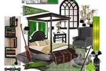 Harry Potter Room / Stručně řečeno, jsou tu nápady na to, v jakém stylu si plánuju v budoucnu zařídit svůj (zatím imaginární) byt či alespoň pokoj.