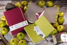 Appeel Notebooks / Appeel Notebooks A natural and sustainable story, through patented and pioneering techniques, the Appeel Notebooks are made from apples. Designed and made in Italy.