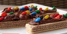 Receitas de Lanches / Receitas doces e salgadas para refeições rápidas.