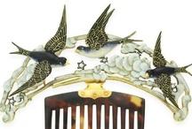Vintage Hair Combs & Hair Accessories