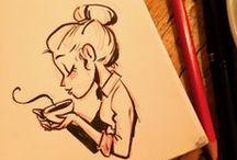 Draw / Disney drawings