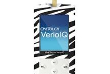 Pump Peelz for the OneTouch© VerioIQ Glucose Meter / OneTouch© VerioIQ Peelz for the OneTouch© VerioIQ Glucose Meter. Pump Peelz are a coated vinyl adhesive designed to fit over the OneTouch© VerioIQ. They are reusable, water resistant, and easy to apply!