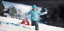 For the JOY of snow! / Because winter is so much fun! Bobsleighs, sledges and snow discs are a perfect alternative for a ski weekend. Spend more time outdoors, have fun with your family.