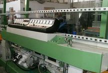 Straight line edging machines / machinery for flat and round edge - photos for informative purpose only