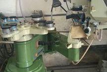 Shaping edging machines/Shaping bavelling machines / machine for shaped glass