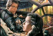 Fan Art / Özellike Star Wars ve diğer fantastik dünyaları derinleştiren görsel çalışmalar...
