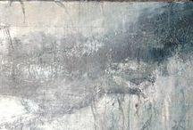 Un hiver à venir / La série des toiles