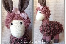 amigurumi crocheting / Amigurumi, heklede dyr og dukker :)