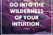 Listen to your heart ♥ / Listen to your heart, trust your intuition, let yourself be guided