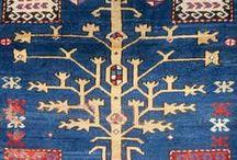 Tree Kazaks / Antique Tree Kazaks, rare and charming
