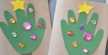 Christmas Crafts / Christmas crafts and activities for Sunday school.