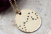 Zodiac Constellation Jewelry / Zodiac constellation jewelry from Zenned Out