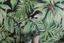 wall paint/paper/pattern