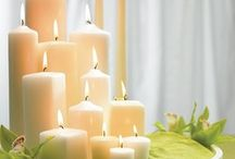 Beautiful Candles & lights.. pretty home decor / Beautiful Candles & lights / by Barbara Carrigan
