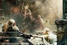 JRR Tolkien / I have adored Tolkien since I was 6, his writing has a special place in my heart.