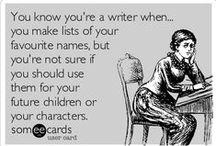 I Write Therefore I Am / I write, therefore I am.