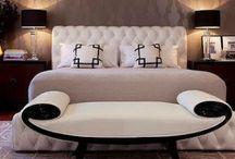 Art Deco Inspired Bedroom / #artdecobedroom #artdeco