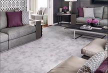 Art Deco Inspired Lounge Room / #loungeroom #artdeco