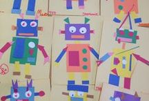 Art at school / What to do with the children aged 7 to 12 years at art lessons