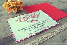 DIY EVENT | Wedding / Invitations,favor boxes,decoration....all about weddings!