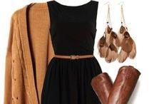 FALL 》Fashion / Women's fashion for the fall season.