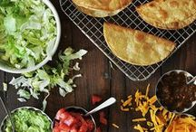 Vegan Mexican and Tex-Mex Recipes / Lots of vegan tacos, vegan nachos, vegan queso,... AKA the best food ever.
