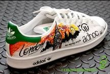 sneakers #colortamination / Guardate cosa succede ad un paio di scarpe che incontrano un #colortaminatore!