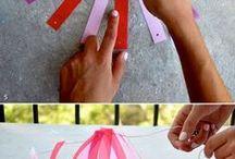 DIY papier/carton