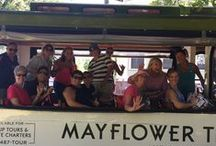 Mayflower Trolley / Mayflower Trolley provides first rate transportation for chartered events and sightseeing tours in Provincetown, MA, America's First Destination. Book Today: 508-487-8687, www.mayflowertrolley.com