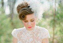"BRIDES HAIRDO""S / Different styles of brides hair on her special day / by Barbara Carrigan"