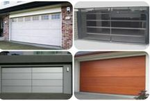 Custom Made Garage Doors / Ace makes a wide range of custom garage doors in Sydney including sectional and tilt doors. Our aluminium composite range comes in negative detail which is a favourite with our architects and can be made in 2 or 3 panels wide.