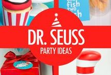 Dr Seuss Birthday Party / Cat in the Hat Theme Birthday Party