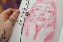 Draw / Rysunki, obrazy, inspiracje