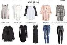 Fashion - Capsules / Keep Your Wardrobe Simple and Smart