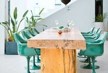 Outdoor Dining - Colorful