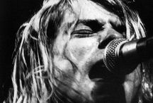 Kurt Cobain / Kurt Donald Cobain born February 20, 1967 – Died April 5, 1994.  / by Florence May