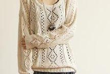 Na drutach dziergane / Knitting