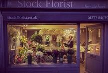 Inside Stock Florist...❤️ / Stock Florist is a beautiful village florist selling simple, elegant, stylish flowers & home ware gifts to Stock and surrounding towns & villages in Essex.