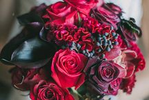 Inspiration for a red wedding