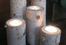Miten teen kynttilän jalustan