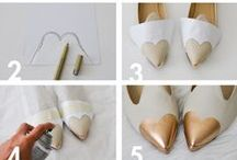 Kenkien tuunaus / Uudista vanhat kenkäsi