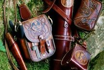 Leather Gear / Leather kit, bags, accessories, how to stuff, basically anything I think is cool about leather. / by Gillie Leather