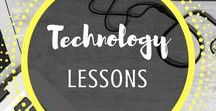 Technology Lessons / Technology lessons for all students in elementary, middle school, and high school. Fun, clear instructions make these lessons for anyone to learn and enjoy! From Mr and Mrs Rooster