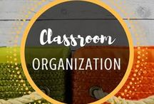 Classroom Organization / Tips and Tools to help get your classroom organized and looking nice. From Mr and Mrs Rooster