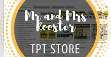 Mr and Mrs Rooster TpT Store / Find Tech, Science, and Design in our shop!  We create resources for teachings and sellers alike. Emoji class decor, page borders, Chemistry, Biology, Technology, and fun Tech activities!  Click follow on our board and in the store to see when we have new products available! From Mr and Mrs Rooster