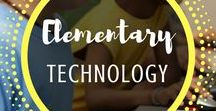 Elementary Technology / Technology | Elementary | Lessons | Internet | Activities | Computer | Lab | Project | Based | Typing | Kids | Online | Digital | Citizenship | Chromebooks | Macs | PC | iPad | Tablet |Mr and Mrs Rooster