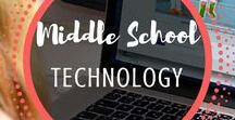 Middle School Technology / Technology | Middle | School | Lessons | Internet | Activities | Computer | Lab | Projects | Based | Typing | Kids | Online | Digital | Citizenship | Chromebooks | Macs | PC | iPad | Tablet | Google Drive | Common Core | Websites | Social Media | Mr and Mrs Rooster |
