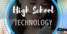 High School Technology / Technology | High | School | Lessons | Internet | Activities | Computer | Lab | Projects | Based | Typing | Kids | Online | Digital | Citizenship | Chromebooks | Macs | PC | iPad | Tablet | Google Drive | Common Core | Websites | Social Media | Mr and Mrs Rooster |
